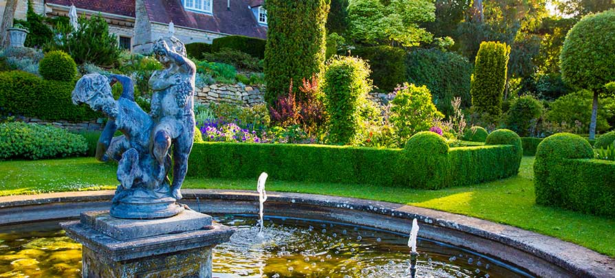 Grounds and Gardens Fountain