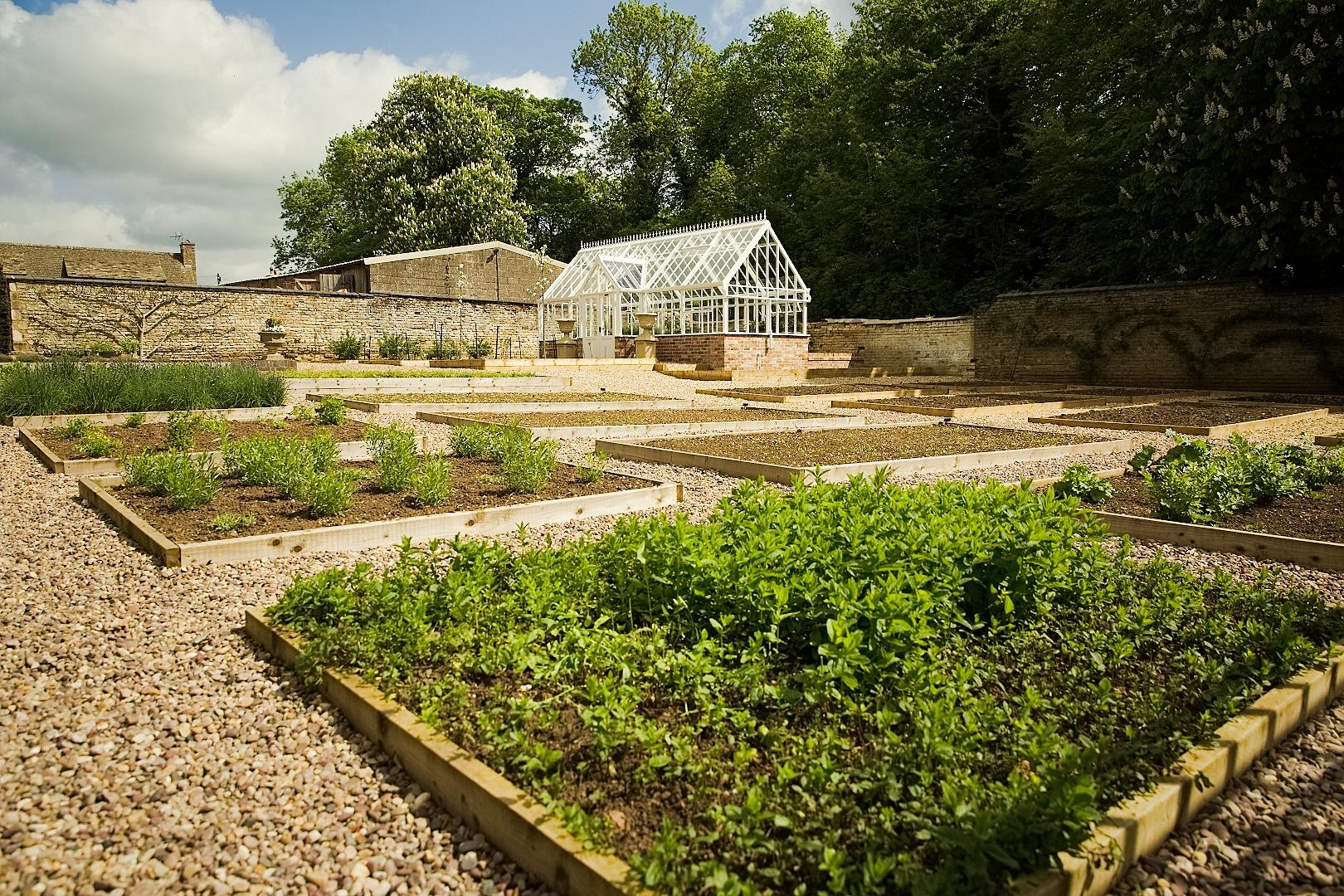 Hambleton Hall, Rutland Kitchen Garden