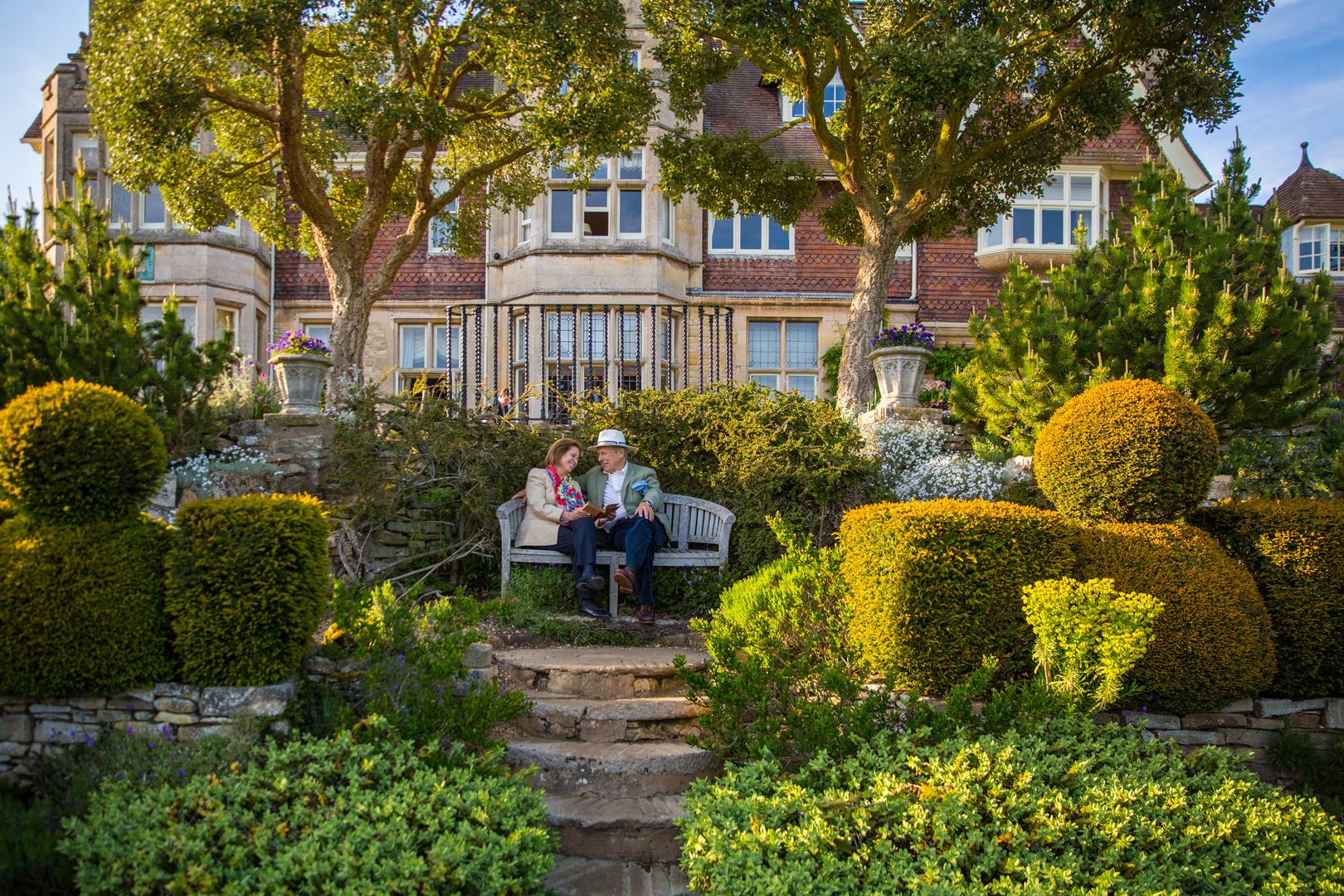 Tim and Stefa garden