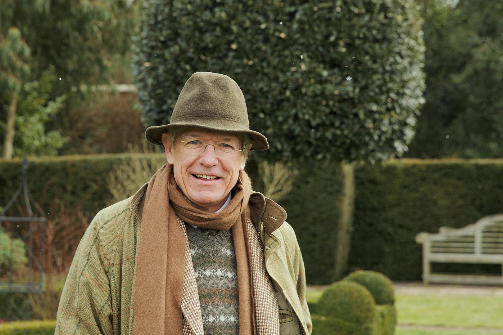 Tim in garden